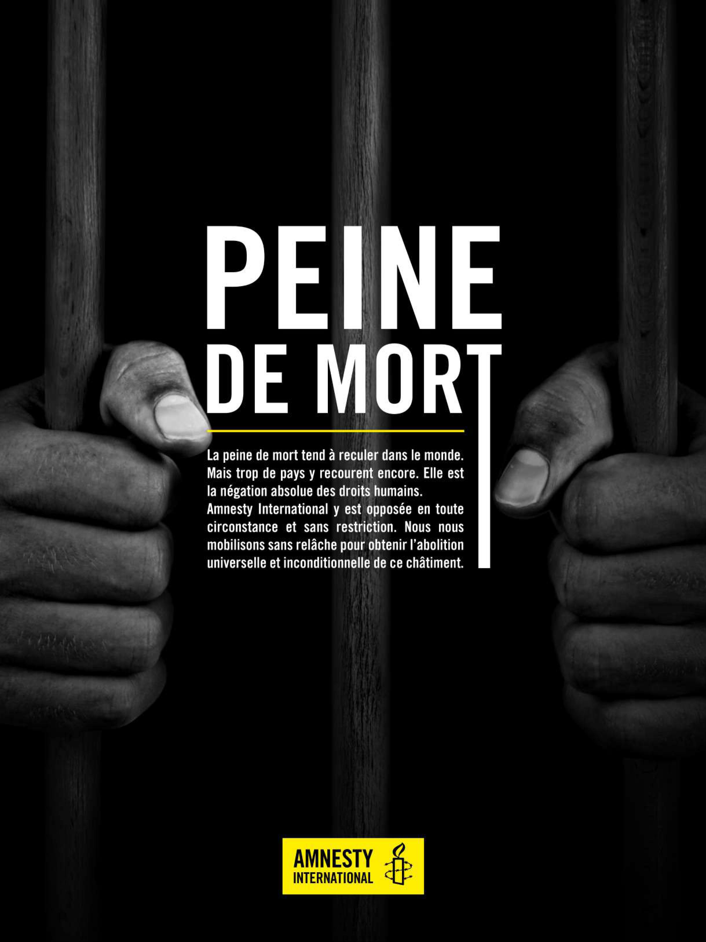 Exposition sur la Peine de Mort avec Amnesty International  